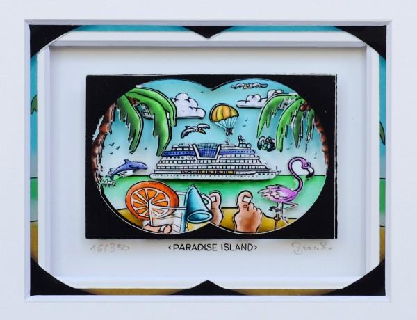 3D Pop Art - Paradise Island