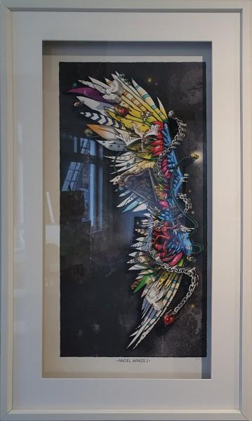 3D Pop Art - Angel Wings I