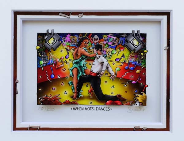 3D Pop Art - When Motsi Dances