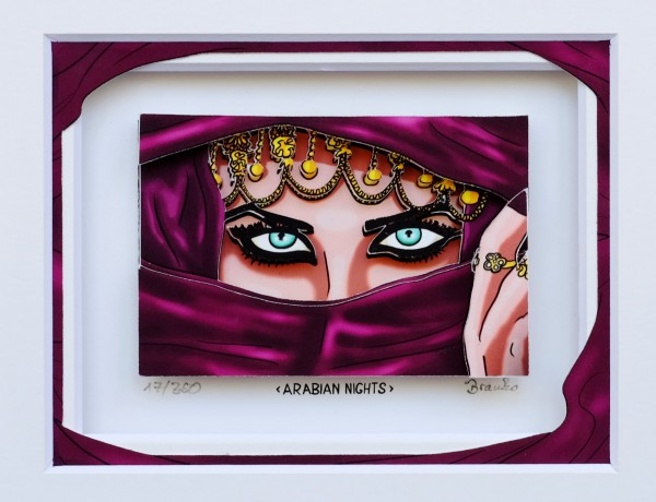 3D Pop Art - Arabian Nights